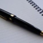 ボールペンなのに、字の太さが変わるなんて。
