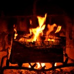 """""""火""""には癒し効果がある、大切なひとといかが。"""